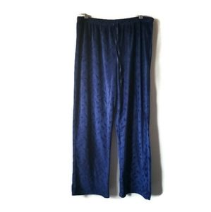 Oscar de la Renta pants leisure blue sz L